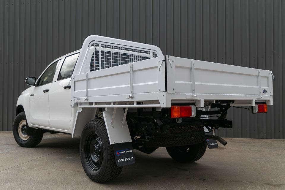 Steel Ute Trays